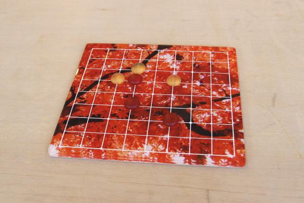 紅葉の碁石
