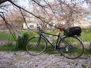 しかし、稜線はすっかり溶けて ... : 大阪城 自転車乗り入れ : 自転車の