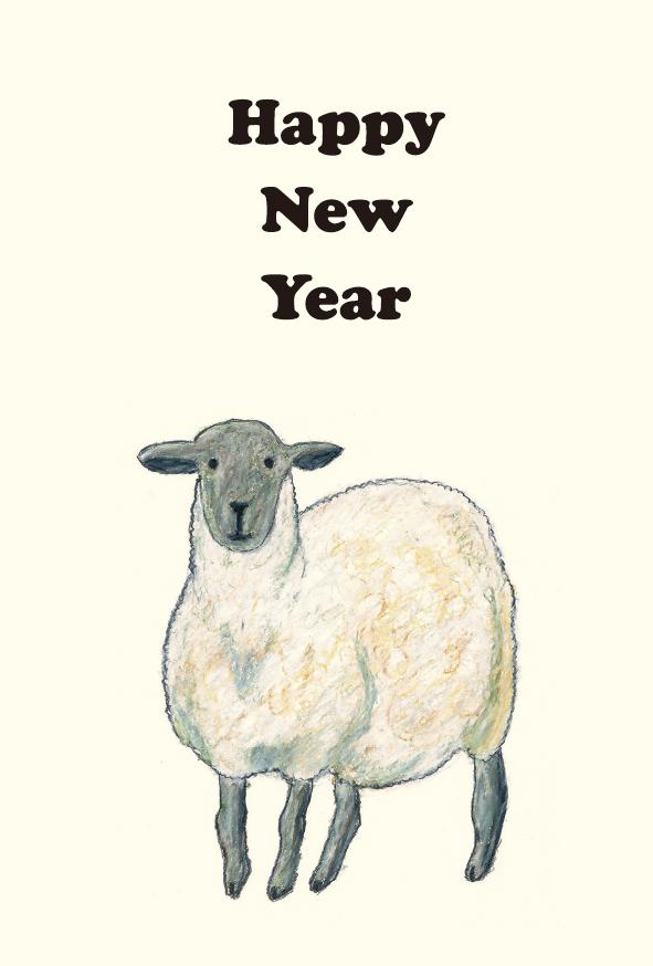 Sheep's 2015 : 年賀状 羊 素材 フリー : 年賀状