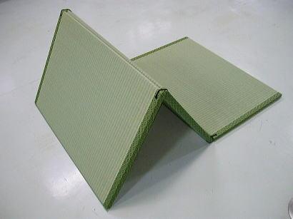 コンパクト型折りたたみ式畳ベット サイズオーダー可能 災害時の備蓄