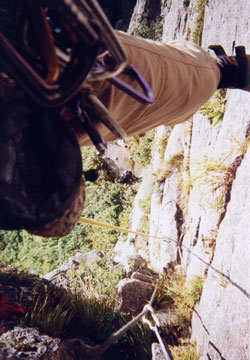 屏風岩東壁雲稜ルート