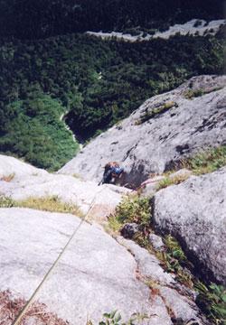 屏風岩雲稜ルート