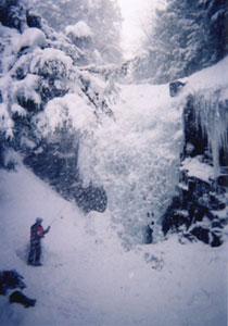 南沢の小滝