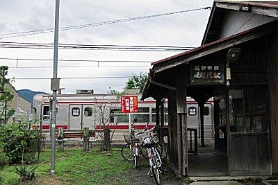 屋代線の旅 東屋代駅